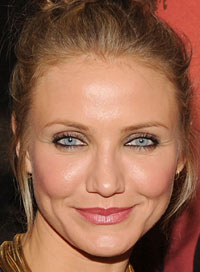 Makeup Tips for Blue Eyes Cameron Diaz