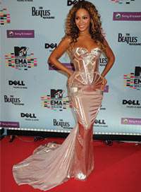 Beyonce Knowles Red Carpet Secrets