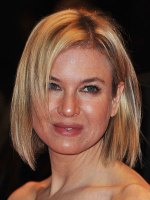 Renee Zellweger Triangle Face Shape Hairstyle