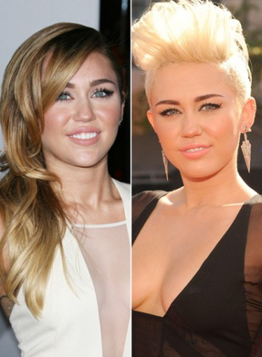 Dramatic Celebrity Haircuts