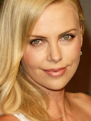 charlize theron minimal makeup