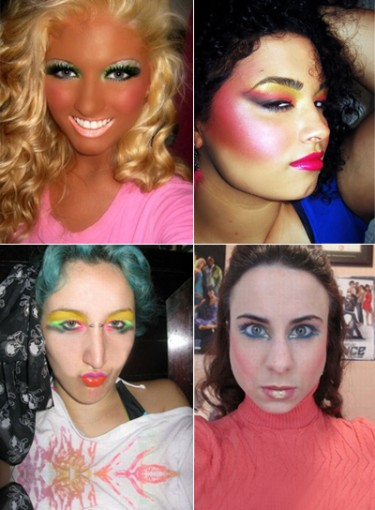 Worst Makeup Pics on the Internet