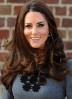 Hairstyle for Long, Thick Hair: Kate Middleton