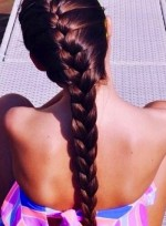 French Braiding Your Own Hair