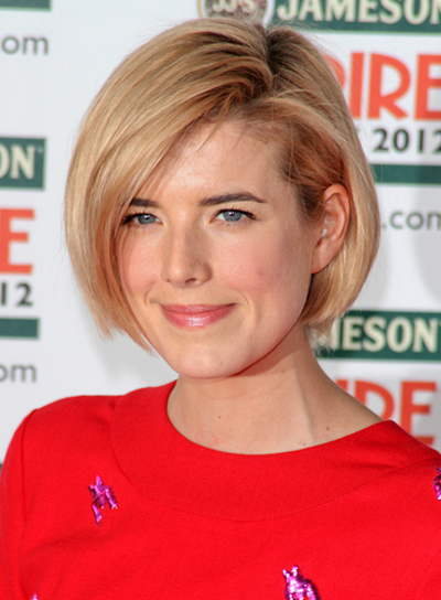 Agyness Deyn's Medium, Chic, Edgy, Bob Hairstyle