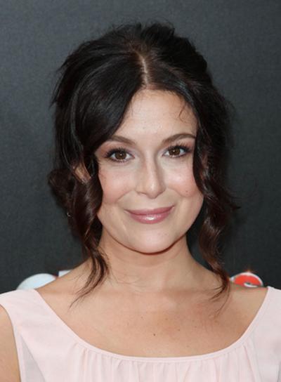 Alexa Vega Curly, Romantic, Sophisticated, Brunette Updo