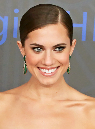 Allison William's Chic, Sophisticated, Brunette, Ponytail Hairstyle