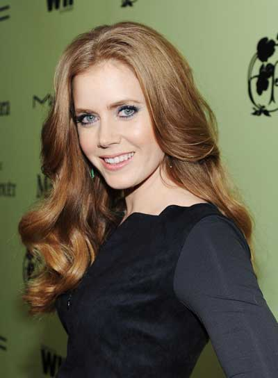 Amy Adams Long, Wavy, Romantic Hairstyle