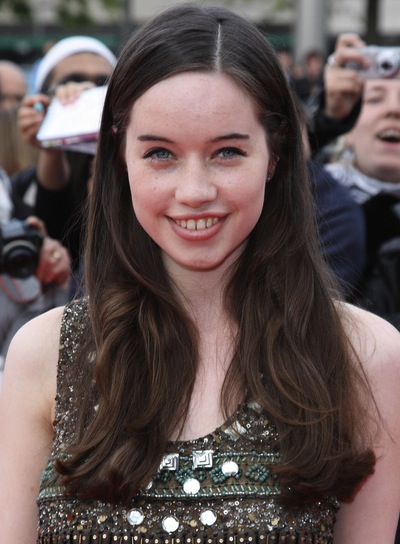 Anna Popplewell Long, Sophisticated, Brunette Hairstyle