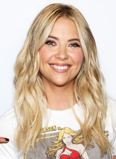 Ashley Benson's Long, Blonde, Wavy, Tousled Hairstyle