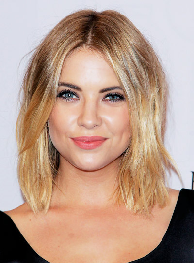 Ashley Benson with a Short, Blonde, Edgy, Tousled Hairstyle Pictures