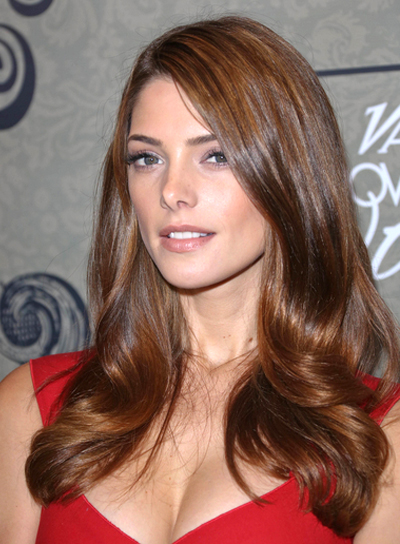 Ashley Greene's Long, Romantic, Sexy, Wavy Hairstyle