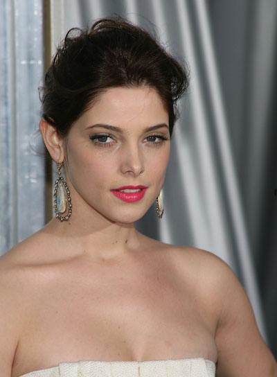 Ashley Greene Chic, Brunette Updo