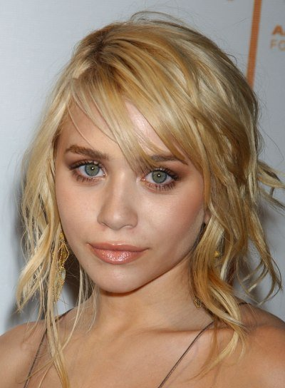 Ashley Olsen Tousled, Edgy Hairstyle