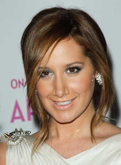 Ashley Tisdale Sophisticated, Prom Updo