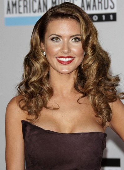 Audrina Patridge Long, Curly, Sexy, Party Hairstyle