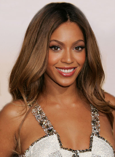 Beyonce Knowles Long, Brunette Hairstyle