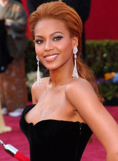 Beyonce Knowles Wedding Ponytail