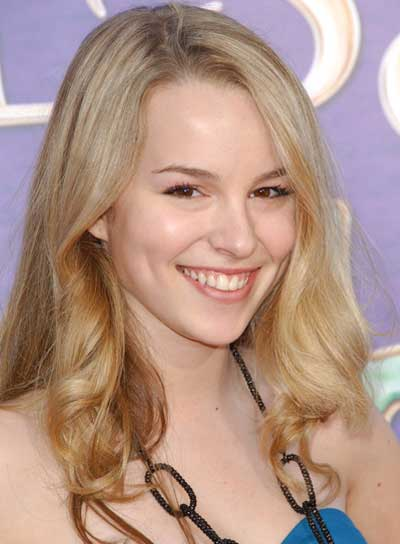 Bridgit Mendler Sophisticated, Romantic, Blonde, Curly Hairstyle
