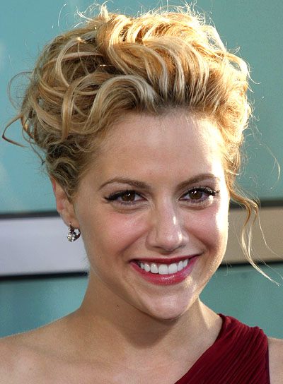 Brittany Murphy Curly Updo