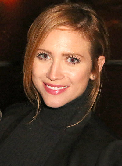 Brittany Snow with a Long, Red, Straight, Ponytail Hairstyle Pictures