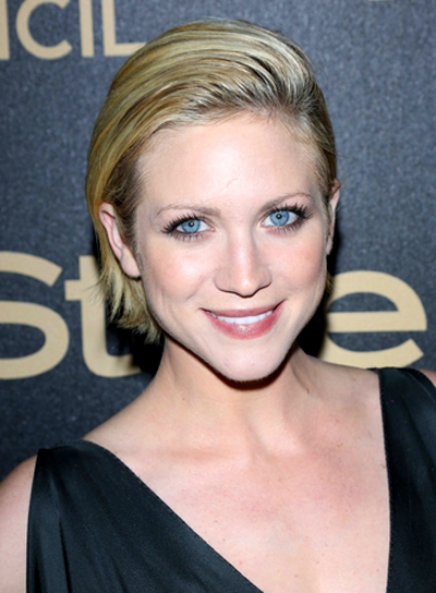 Brittany Snow's Short, Chic, Sophisticated, Blonde, Hairstyle