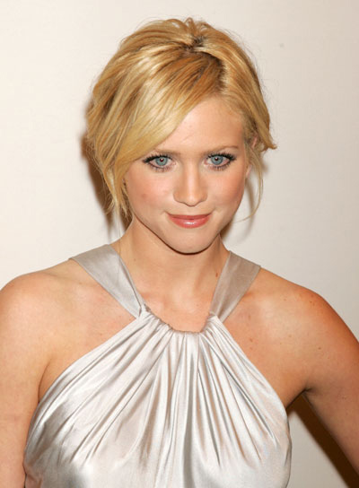 Brittany Snow Blonde Updo