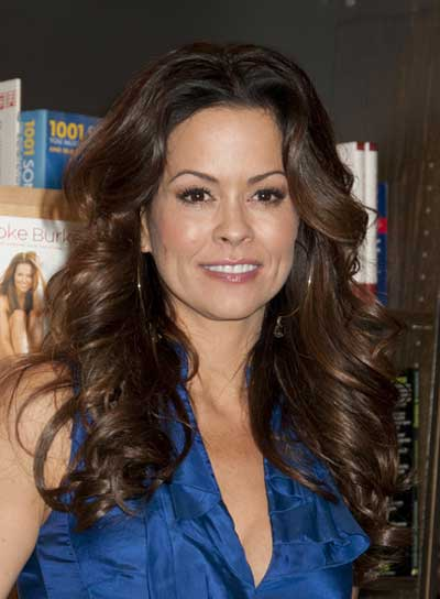 Brooke Burke Long, Curly, Sophisticated, Brunette Hairstyle