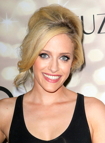 Carly Chaikin's Long, Blonde, Wedding, Updo Hairstyle