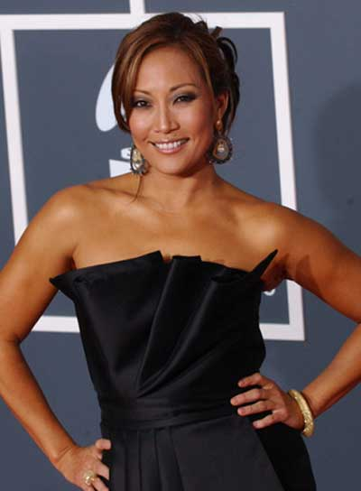 Carrie Ann Inaba Sophisticated, Brunette Updo