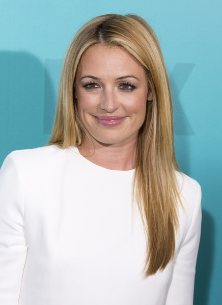 Cat Deeley's Long, Straight, Sophisticated, Blonde Hairstyle