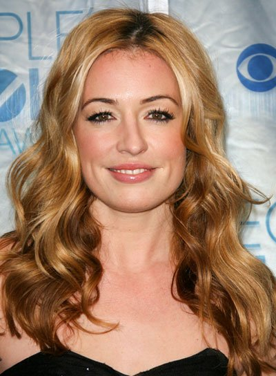 Cat Deeley Long, Wavy, Sexy, Blonde Hairstyle
