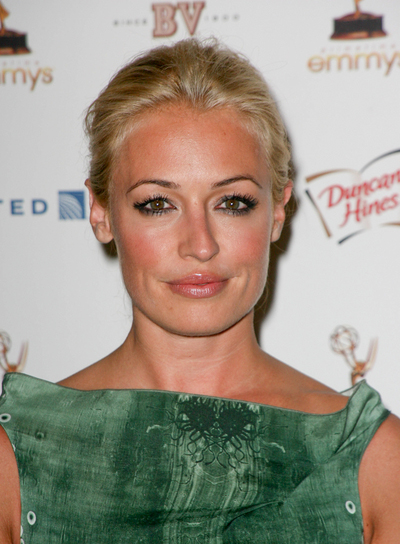 Cat Deeley Sexy, Romantic, Wedding, Blonde Hairstyle