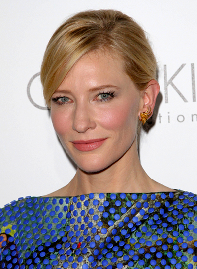 Cate Blanchett's, Sophisticated, Chic, Blonde, Updo, Hairstyle