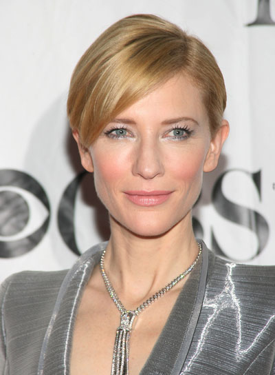 Cate Blanchett Sophisticated, Straight, Updo