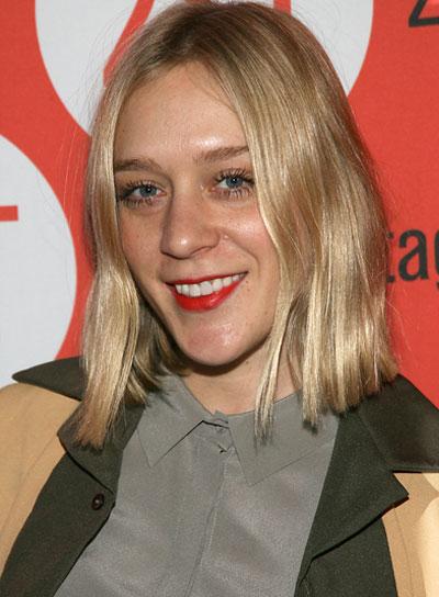 Chloe Sevigny Short, Straight, Chic, Blonde Hairstyle