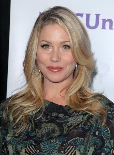 Christina Applegate Long, Layered, Chic, Blonde Hairstyle