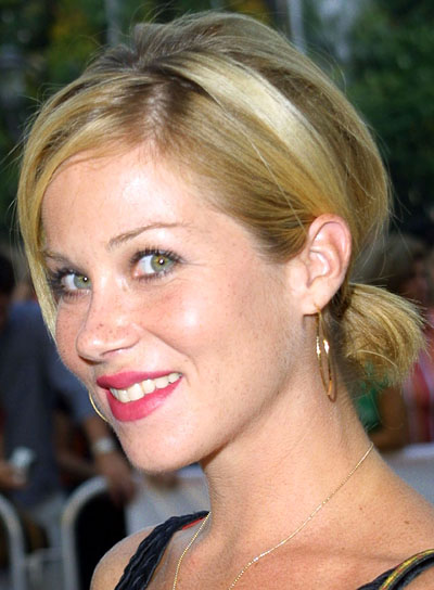 Christina Applegate Funky, Short Ponytail
