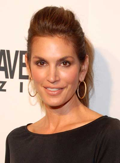 Cindy Crawford Chic, Brunette Ponytail