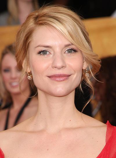 Claire Danes Romantic, Blonde Updo