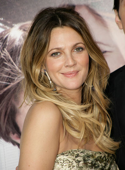 Drew Barrymore Long, Tousled Hairstyle