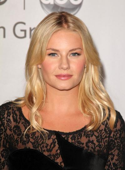 Elisha Cuthbert Medium, Sexy, Sophisticated, Blonde Hairstyle