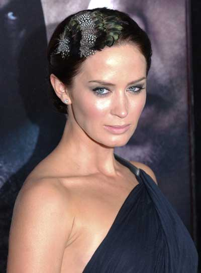 Emily Blunt Sophisticated Updo