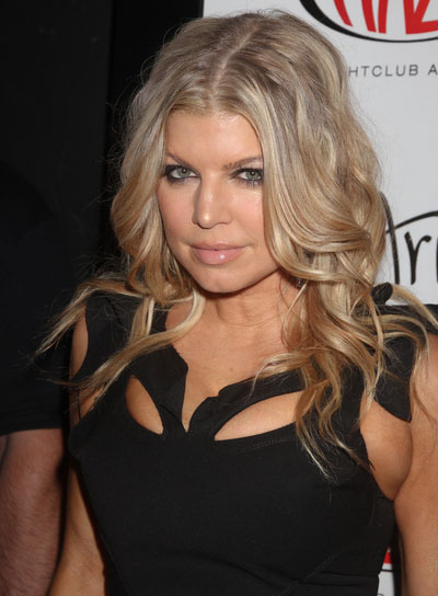 Fergie Sophisticated, Blonde Hairstyle