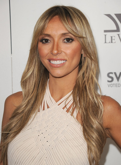 Giuliana Rancic Long, Wavy, Tousled, Sexy, Blonde Hairstyle with Highlights