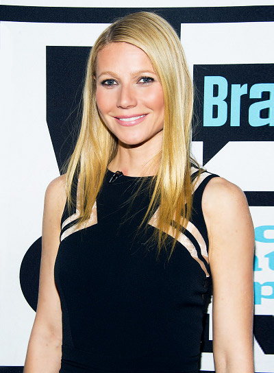 Gwyneth Paltrow with a Long, Blonde, Straight, Sophisticated Hairstyle Pictures