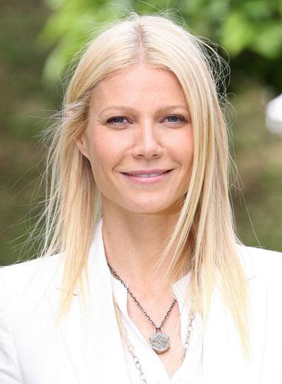 Gwyneth Paltrow Straight, Blonde Hairstyle