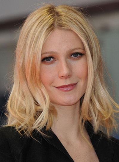 Gwyneth Paltrow Blonde, Wavy Hairstyle