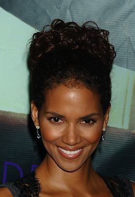 Halle Berry Formal Updo for Prom