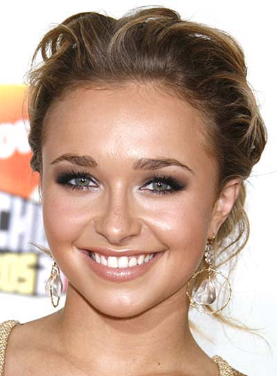 Hayden Panettiere Curly, Prom Updo